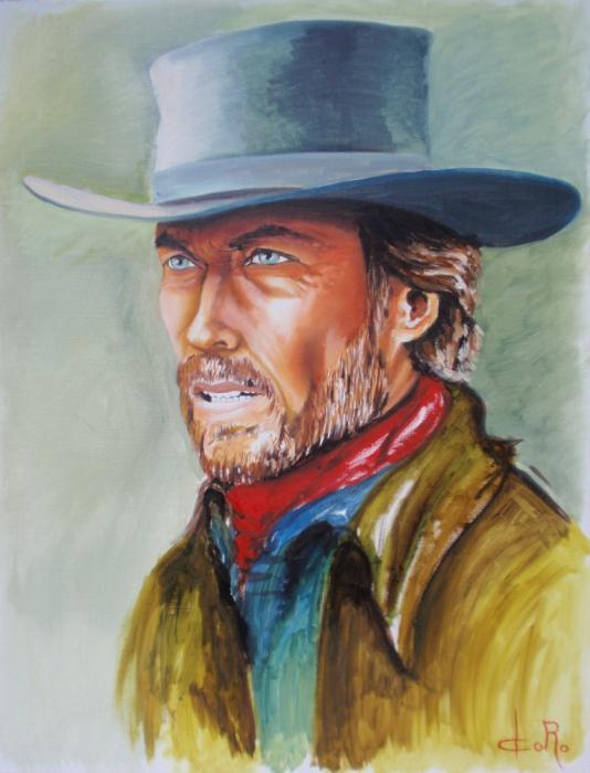 Clint Eastwood by Doro